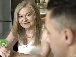 Young lover is completeness spoiled granny Betsy B desires every day