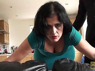 Rough throat and pussy bonk of an amateur nightfall darkness vixen