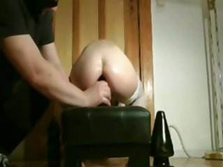 Master trains his Sub at bottom Anal chubby Toys