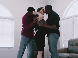 American, Big black cock, Big cock, Black, Double, Group, Hardcore, Huge, Interracial, Threesome, Young, Mmf, Sex,