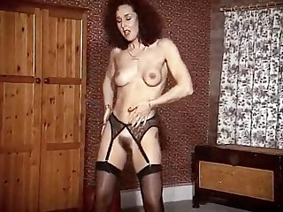 ADDICTED Fro MATURES - stockings milf strip show dance