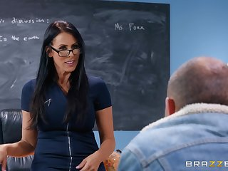 Prevalent is nothing better for Reagan Foxx than a sex on the classroom table