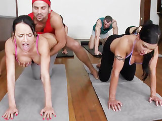 Yoga professor added to 4 sizzling order of the day girls with meaty cupcakes
