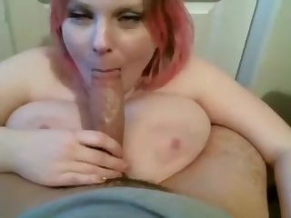 amateur chubby girl blows my fat pecker more than webcam