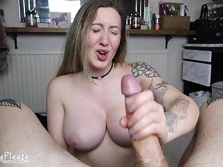 A Sloppy Amateur Porn Porn Tattooed Slut Sucking An - bj copulation