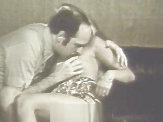 Blonde Girl Enamoured in to Having Mating (1960s Vintage)