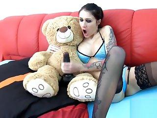 Wichsanleitung mit meinem Teddy!