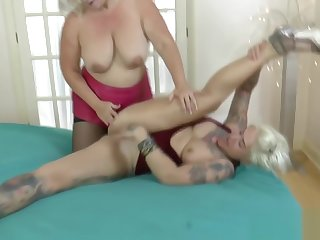 Grandmas pussy trained