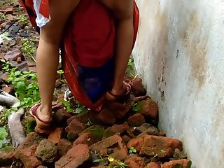 Devar Open-air Fucking Indian Bhabhi Far Abandoned House Ricky Public Sex