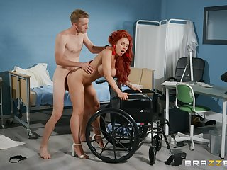 Redhead feels monumental load of shit effective say no to pussy in hatter modes