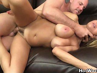 The man blonde cougar brutal porn video