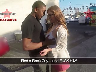Picked in the air Puerto Rican nerdy nympho Skylar Snow gives a good solid blowjob