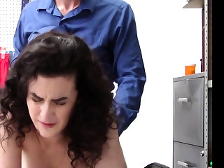Teen is acquiring her pussy fucked
