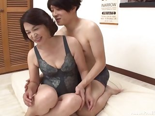 Clothed hard sex is what Kitamura Toshiyo loves more than anything else