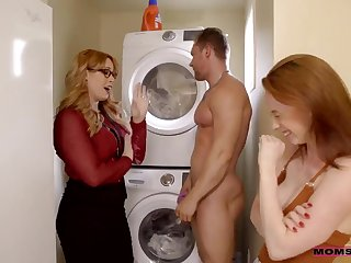Edyn Blair and Tina Rayne - Milfs Master Plan