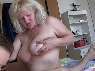 Raunchy Milfs Playing with Hardened One-Eyed Helix