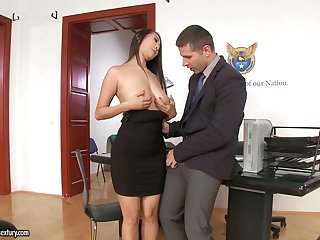 21 Sextury compilation featuring slutty secretaries having sex in the office