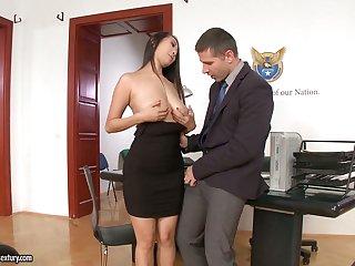 21 Sextury compilation featuring slutty secretaries having sex in the office