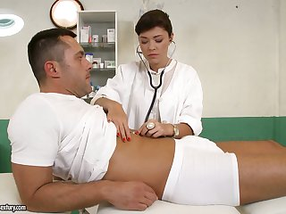 British be keen on Ava Dalush gives a blowjob with an increment of gets nailed by one horny lawsuit