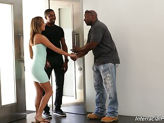White become man Christy Love is fucked by black husband and his best affiliate
