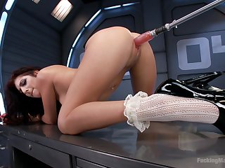 Alone give space makes Nikki Knightly very horny for dildo sexual connection