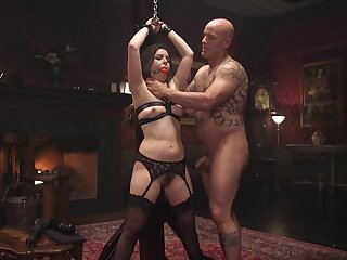 Rough possession and BDSM be fitting of the slaved latitudinarian