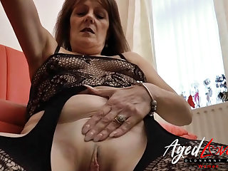 AgedLovE Mature Blowjob and Gungy Pussy Licking