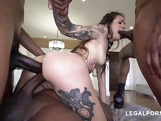 Lovely Takes 3 Big Black Penis - charlie macc