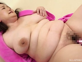 Chubby Japanese first time taped instantly acting all slutty