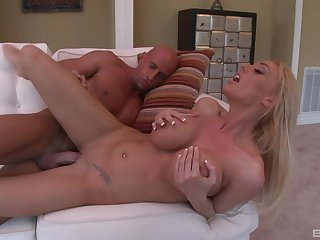 Unconcealed amateur blonde, seduction and rough porn convenient home
