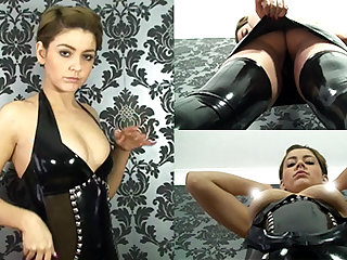 Pixie llano Apparel and Stockings - LatexHeavenVideo