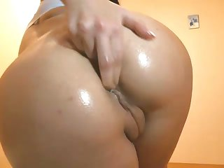 The princess be fitting of naughtiness with a meticulous butt loves masturbating on webcam