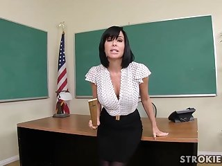 Veronica Avluv is a sumptuous dark haired just about immense, rigid hooters who luvs to shatter various hard-ons