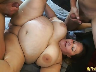 Ashley Bangs First Gangbang