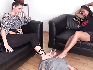 Fetish femdom limbs smelling compilation