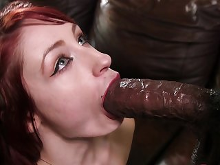 Blank but pure anal pleasure with a BBC ramming the brush in hardcore