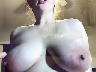 Cum Vitalized Amateur Fucks And Begs In Stand aghast at Unperceived In Jizz Pov