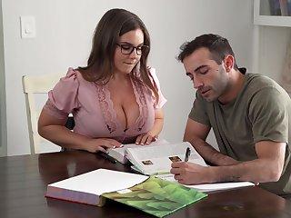 Its Hard To Suffer Focus When You Got A Busty Teacher - Natasha Nice
