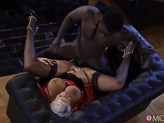Anal and facial with big tits MILF