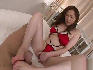Big breast asians bawdy stick in