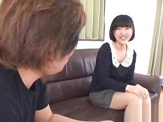 Irregular asian anal toying