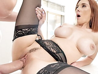 PUREMATURE Big Tit Mature Lillian Stone Fucked At the end of one's tether Teacher