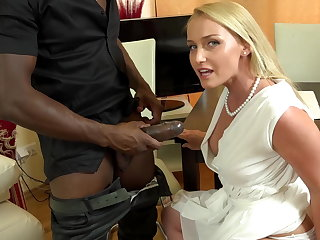 Your boss's huge, frowning dick making me cum swiftly a in timely fashion