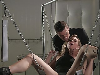 Deep carnal knowledge for chained babe less her first maledom play