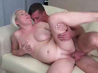 Horny MILF being fucked non-native ruin by a younger dude - Gaborne